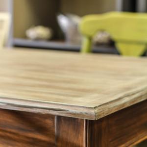 Custom Driftwood Finish